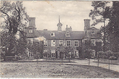 MACKERYE END, WHEATHAMPSTEAD - c1920s POSTCARD (ref 3928)