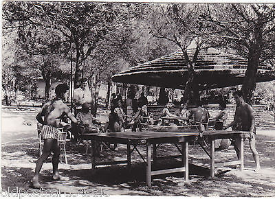 VILLAGE DE VACANCE, PAKOSTANE - CROATIA - TABLE TENNIS RP POSTCARD (ref 5984/13)