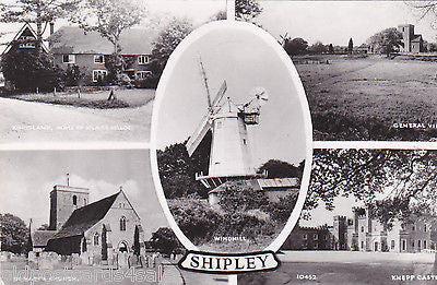 Postcard of Shipley, Sussex