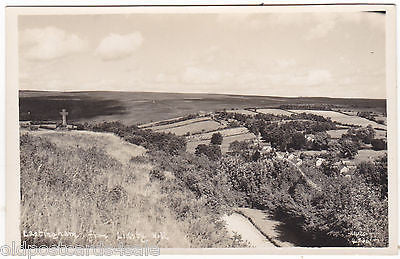 LASTINGHAM, FROM LIDSTY HILL - REAL PHOTO PLAIN BACK POSTCARD (ref 7405)