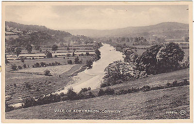 VALE OF EDEYRNION, CORWEN - OLD POSTCARD (ref 2696)