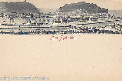 SAN SEBASTIAN - UNDIVIDED BACK POSTCARD (ref 5588/13)