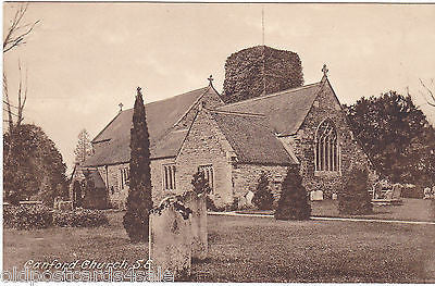 CANFORD CHURCH S.E. - OLD POSTCARD (ref 7247/14)