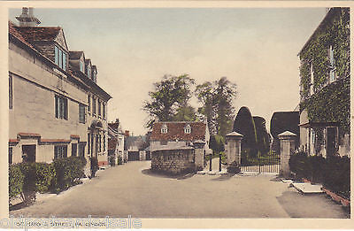 ST MARY'S STREET, PAINSWICK - NR STROUD - OLD POSTCARD (ref 4149/12)