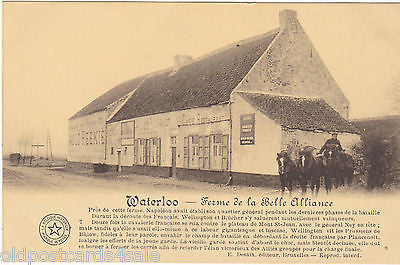 WATERLOO - FERME DE LA BELLE ALLIANCE