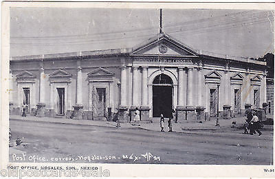 NOGALES, SON., MEXICO - POST OFFICE, 1956 POSTCARD (ref 4791)