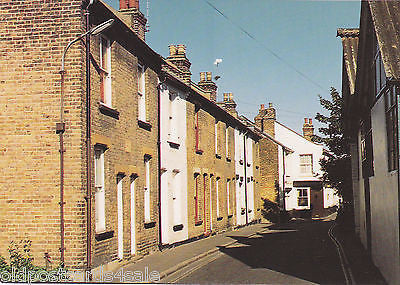 OLD LEIGH - THEOBALD'S COTTAGES - MODERN SIZE POSTCARD (ref 3440)