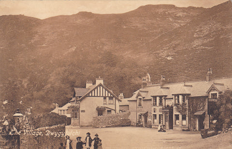 Old postcard of The Village, Dwygyfylchi
