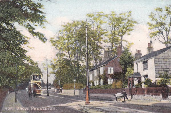 ld postcard of Hope Brow, Pendleton nr Eccles, Manchester