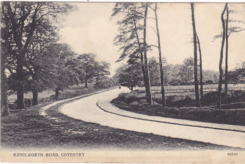 Kenilworth Road, Coventry, 1907 postcard
