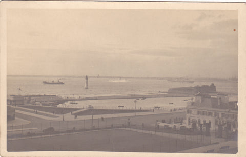 old  postcard of New Brighton, Wirral