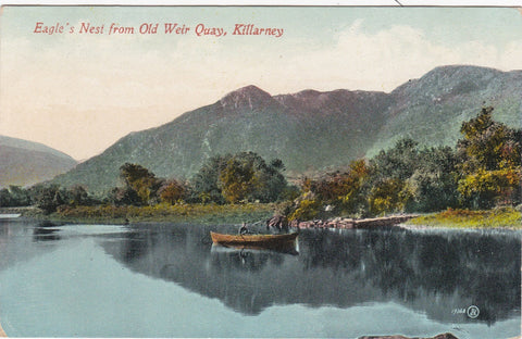 EAGLE'S NEST FROM OLD WEIR QUAY, KILLARNEY
