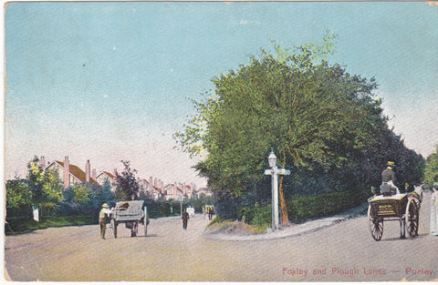 FOXLEY AND PLOUGH LANES, PURLEY