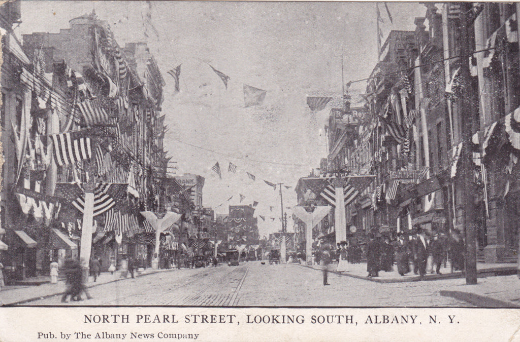 Old postcard of Albany, New York