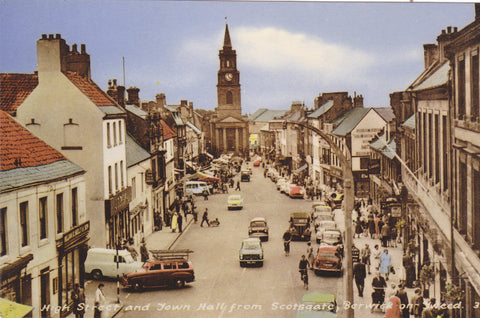 High Street and Town Hall from Scotsgate, Berwick on Tweed
