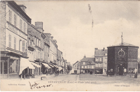 BEUZEVILLE - PLACE  (COTE NORD)