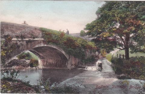 Bodmin, Dunmere Bridge - 1907 postcard