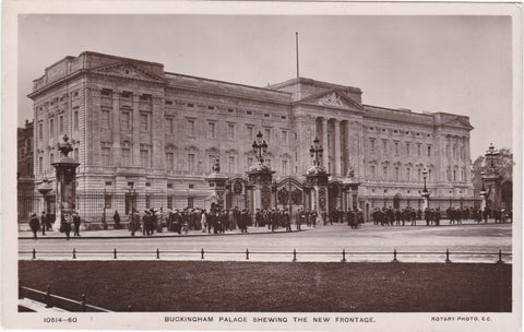 Buckingham Palace 1910 postcard