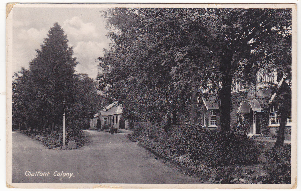Old postcard of Chalfont Colony, Chalfont St Peter, Buckinghamshire