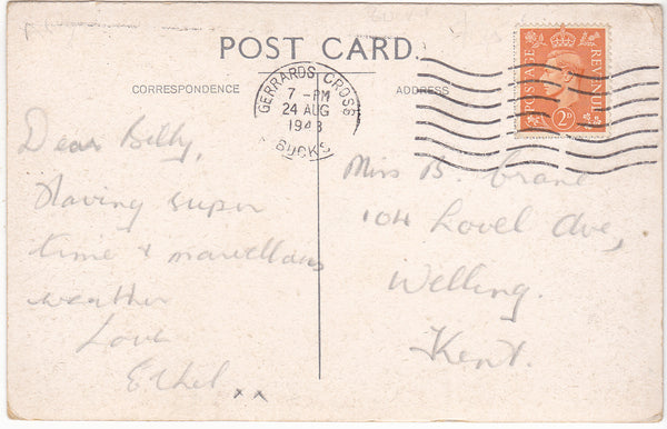 CHALFONT COLONY - 1940s POSTCARD, BUCKINGHAMSHIRE (ref 7187/19 B02)