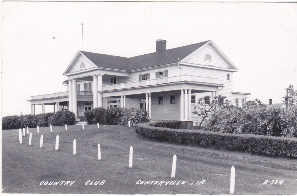 Country Club, Centerville, Iowa