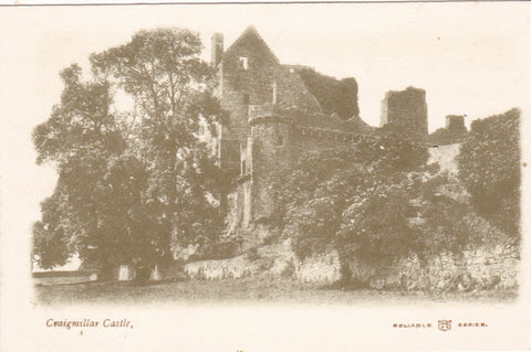 CRAIGMILLAR CASTLE - OLD EDINBURGH POSTCARD (ref 3946/18)