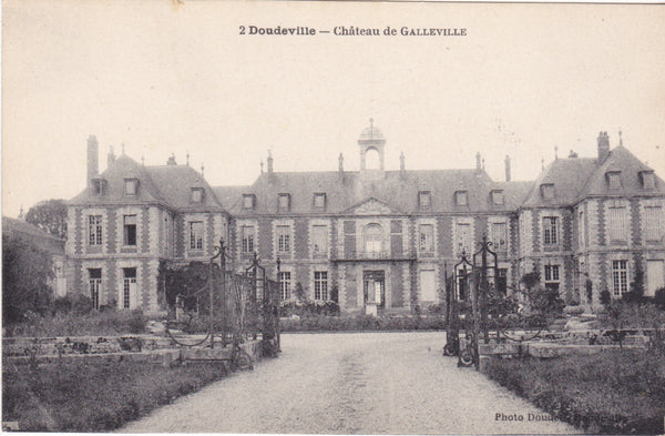 DOUDEVILLE - CHATEAU DE GALLEVILLE - Normandy