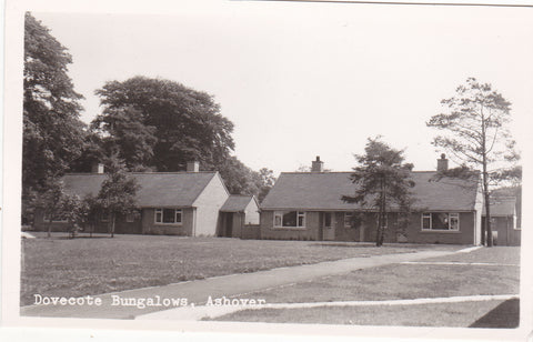Real photo of Dovecote Bungalows, Ashover in Derbyshire