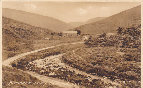 Old postcard of Brennand Valley, Dunsop Bridge