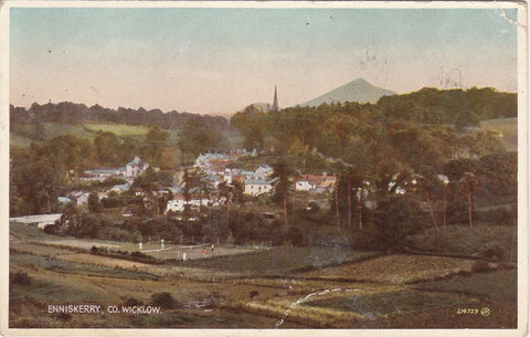 ENNISKERRY - CO. WICKLOW - 1953 POSTCARD (ref 4082/18)