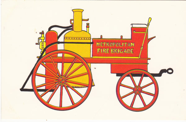 London County Council Fire Engine with steam pump