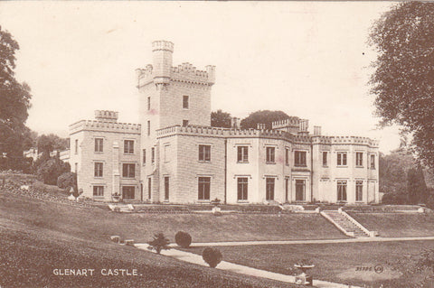 Old postcard of Glenart Castle, Co Wicklow, Ireland