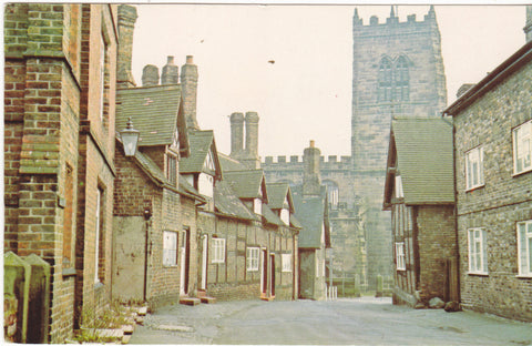 CHURCH STREET, GREAT BUDWORTH - MODERN SIZE POSTCARD   (ref 120/16)