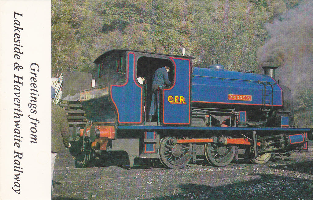 """PRINCESS"" AT HAVERTHWAITE - LAKESIDE & HAVERTHWAITE RAILWAY"