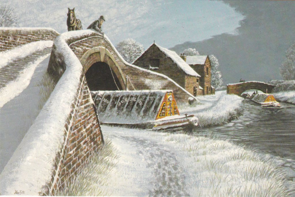 WINTERTIME, GREAT HAYWOOD JUNCTION, TRENT & MERSEY CANAL