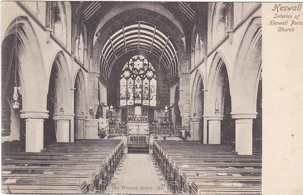 Heswall Parish Church interior