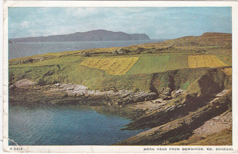 HORN HEAD FROM DOWNINGS, CO. DONEGAL, IRELAND POSTCARD (ref 3646/18)