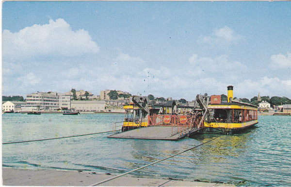 THE FERRY, RIVER ITCHEN, SOUTHAMPTON - POSTCARD (ref 2190/18)