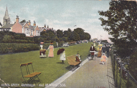 1907 postcard of Keats Green, Isle of Wight