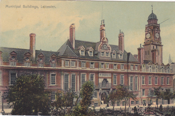 Municipal Buildings, Leicester