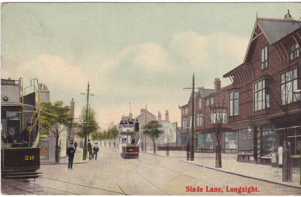 Slade Lane, Longsight