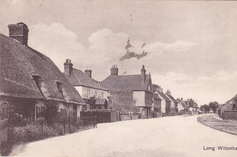 LONG WITTENHAM, OXFORDSHIRE - NR ABINGDON - OLD POSTCARD (ref 1543/19)