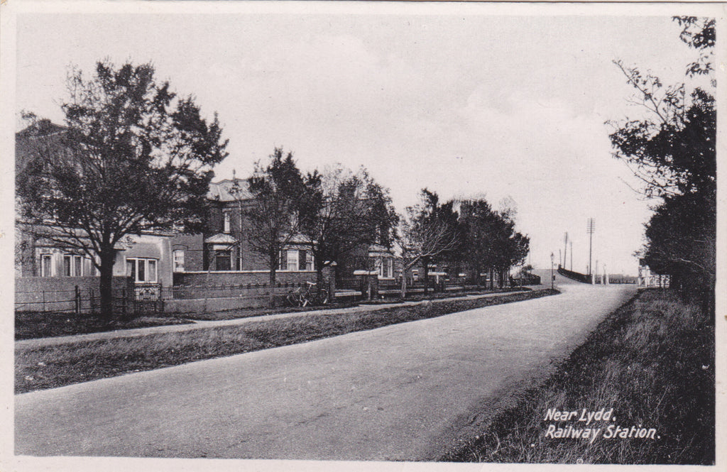 Near Lydd. Railway Station