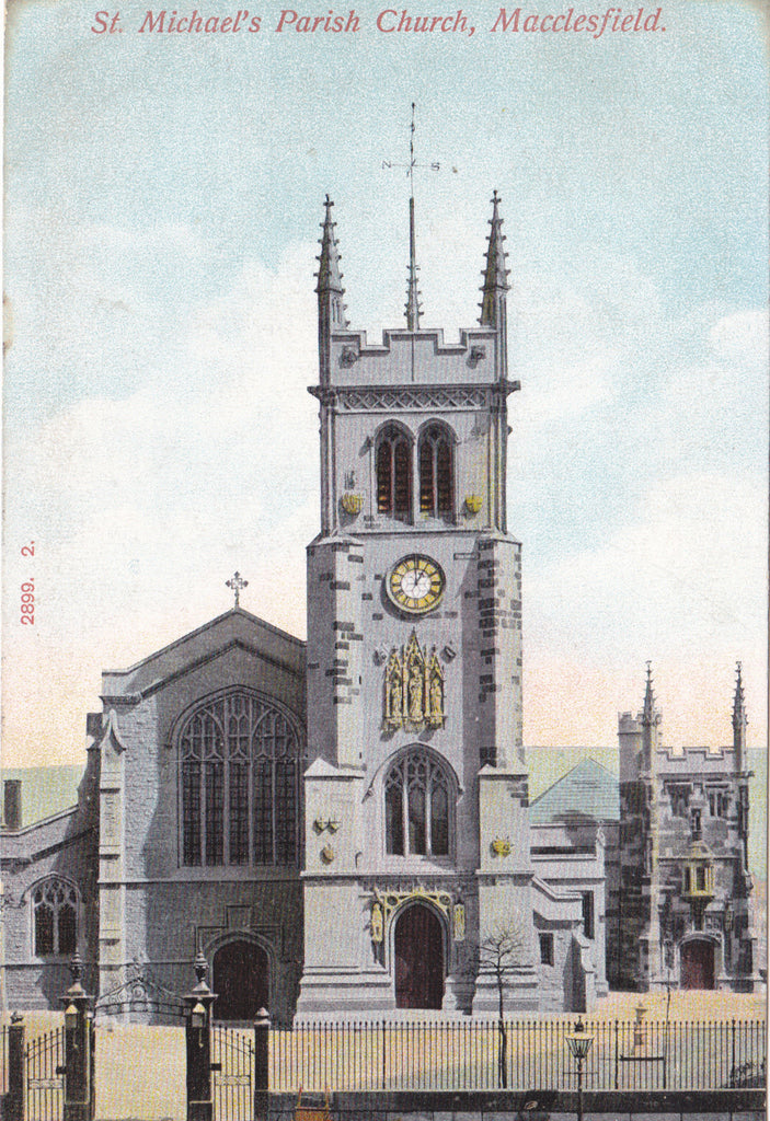ST MICHAEL'S PARISH CHURCH, MACCLESFIELD (ref 063/16)