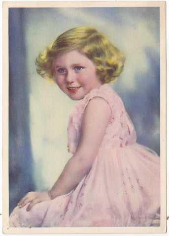 HRH Princess Margaret Rose vintage postcard