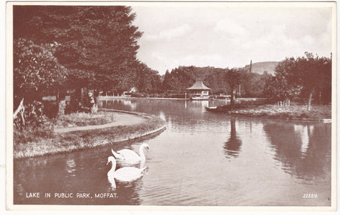 Lake in Public Park, Moffat