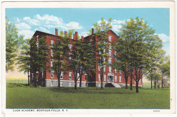 COOK ACADEMY, MONTOUR FALLS, NY