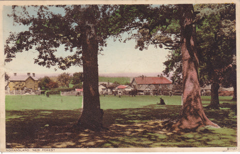 NOMANSLAND, NEW FOREST - OLD POSTCARD (ref 1559/18)
