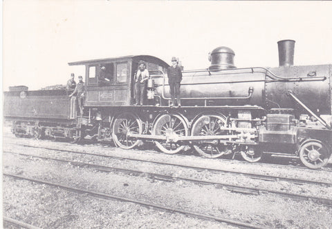 STEAM LOCOMOTIVE 0446 CLASS, ENGINE NO 452 c1890s