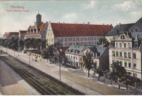 Old Nurnberg postcard
